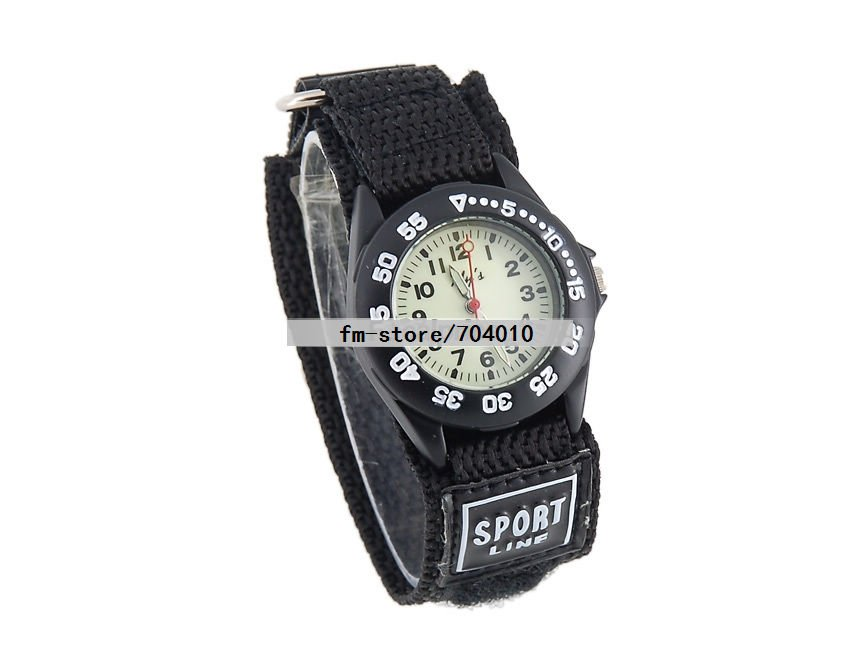 Nylon 25 cm Round watch Glass Digital 011