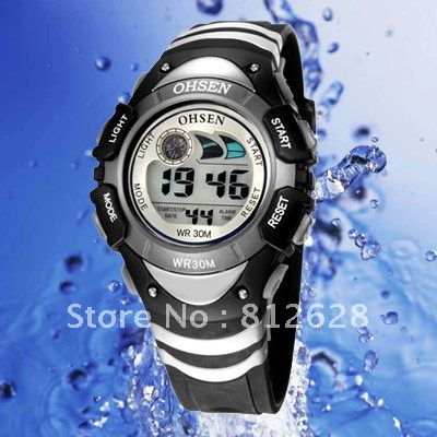 Women Digital watch Sport Rubber 3.6 cm