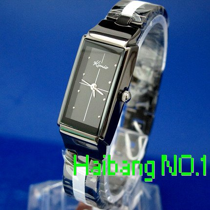 Stainless Steel 20 cm Rectangle watch Glass Quartz K874L-B