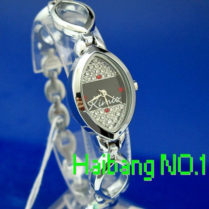 Stainless Steel 20 cm Oval watch Glass Quartz K370L