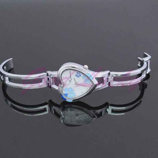 Stainless Steel 16 cm Round watch Glass Quartz K440L-6