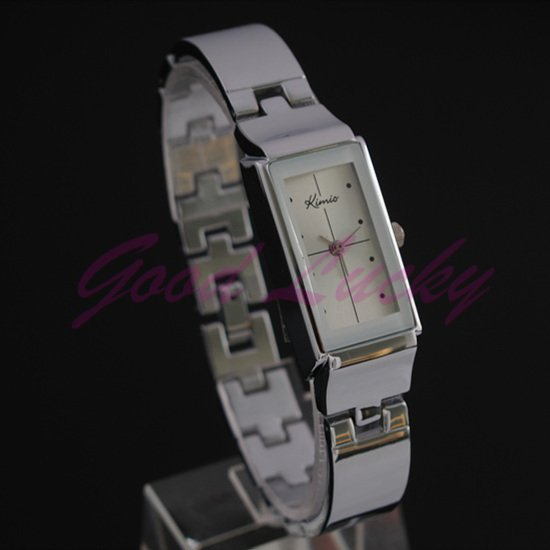 100 Genuine KIMIO white Ladies simple Fashion Casual Bracelet Design Quartz 10pcs lot Women s Wrist