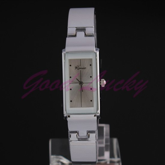 Stainless Steel 20 cm Rectangle watch Glass Quartz K874Lbai