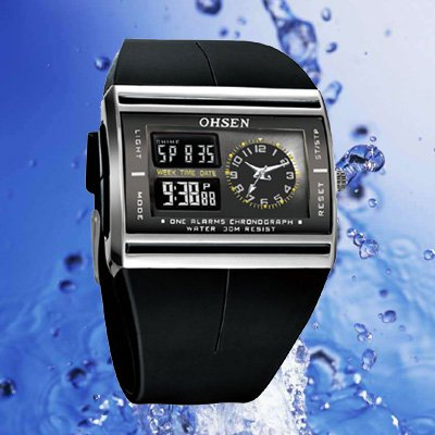 Women Digital watch Fashion & Casual Rubber 3.8 cm