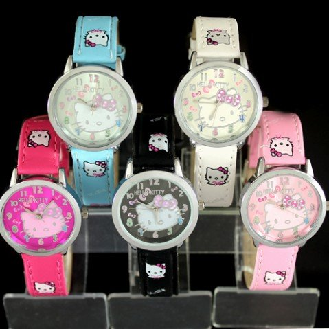Women Digital watch Modern Leather