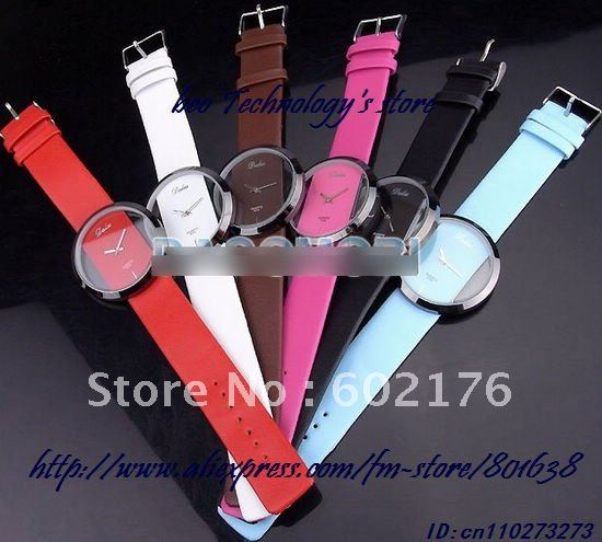 100 pcs lot 2011 New lady s Fashion casual watch super beautiful girls favorite