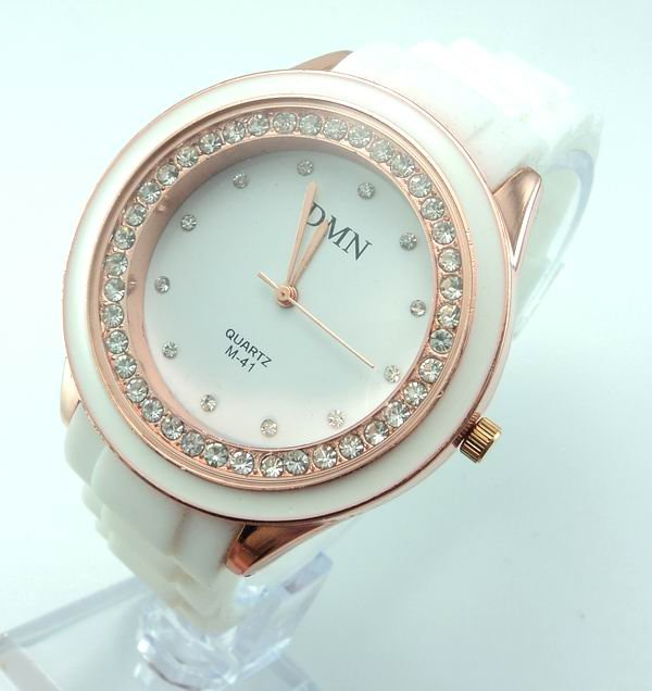 Women Quartz watch Sport Rubber 4.4 cm