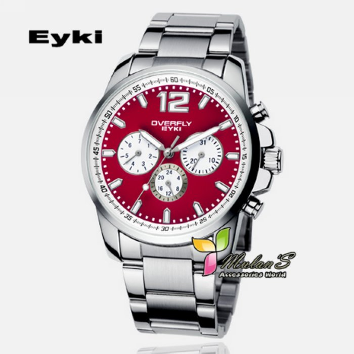 Rubber 23 cm Round watch  Quartz
