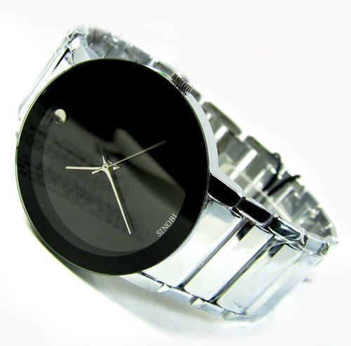 Leather 23 cm Rectangle watch Glass Quartz Other