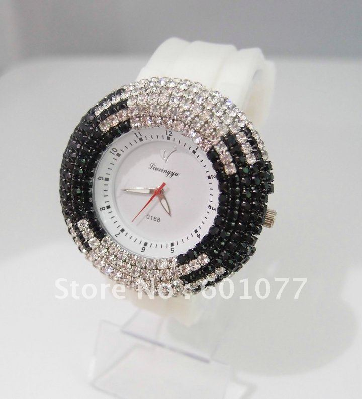 Rectangle watch Glass Quartz H062