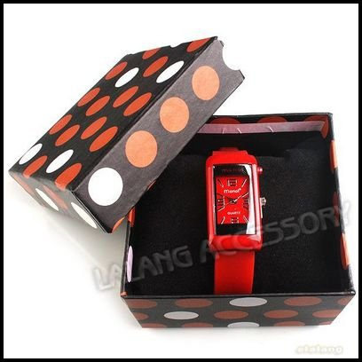 Rubber 22 cm Round watch Glass Quartz silicone watch