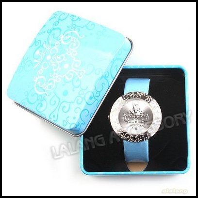 Leather 24 inch Rectangle watch Acrylic Quartz Other