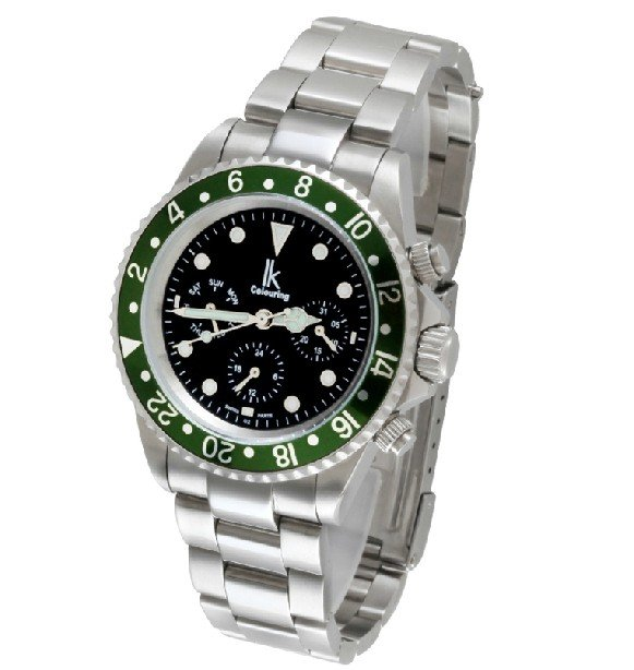 21 cm Round watch Glass Quartz BT4711