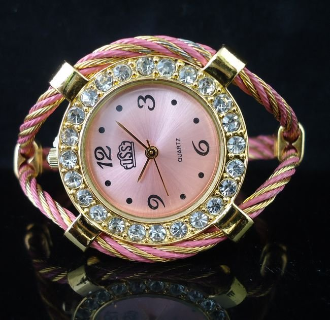 Rubber  Rectangle watch Glass Automatic Self-Wind