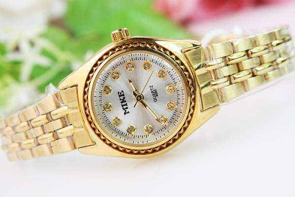 Rubber 23 cm Round watch Glass Quartz SL1277