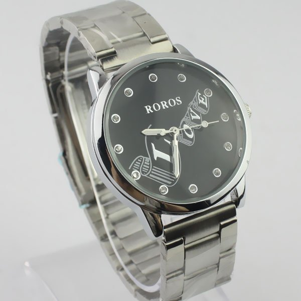 2012 New classic love women s Watch Fashion Unique steel mature ladies wristwatch Water Resistant women