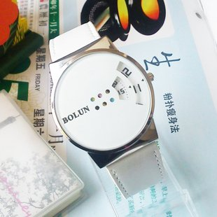 Stainless Steel 18.5 cm Round watch Glass Automatic Self-Wind K465L