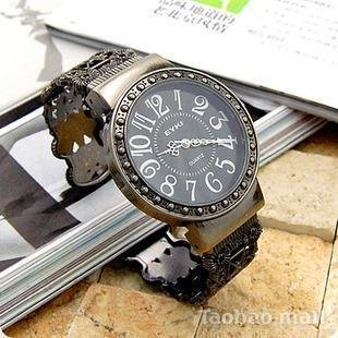 Leather 37.5 cm Rectangle watch Hardlex Quartz 12560202301