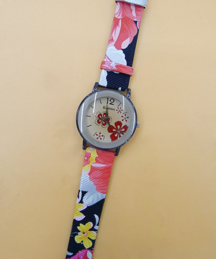 5 pcs Promotions new hot High Quality wristwatches Flower Design Fashion Lovely Girl woman