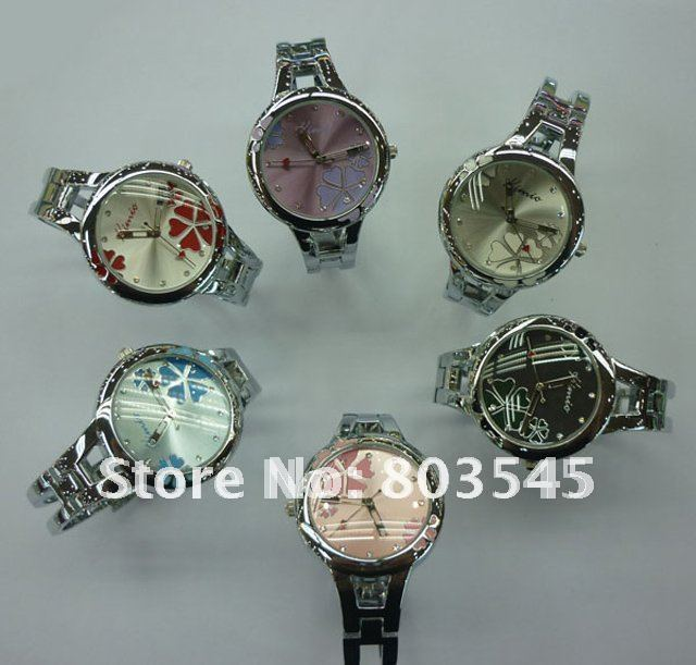 50PCS lot EMS Fashion watch Quartz watches Bracelet watch WristWatch