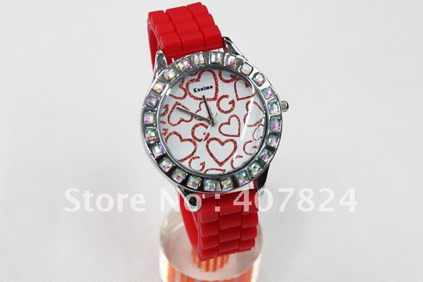 Stainless Steel 22 inch Rectangle watch Glass Quartz Other