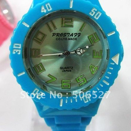 50pcs lot high quality Candy watch Fashion girl watch New Jelly watch ODM watch
