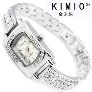 6 colors Japan Movement Charm KIMIO Lady s Stainless Steel Analog Watch RQ2244