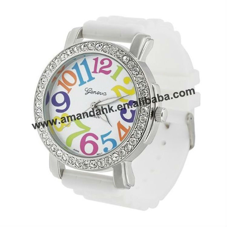 Women Quartz watch Modern Rubber 3.8 cm