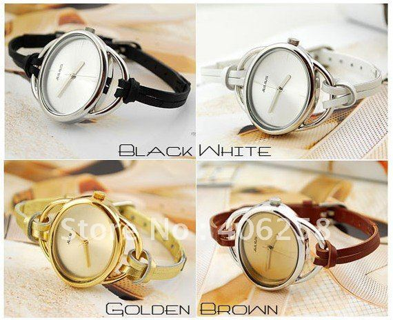 Rubber 26 cm Round watch Glass Quartz AD1102-1