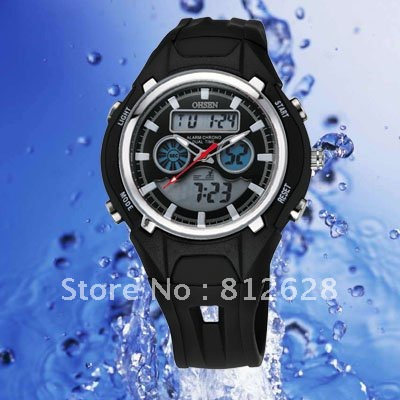 Leather  Round watch Glass Automatic Self-Wind
