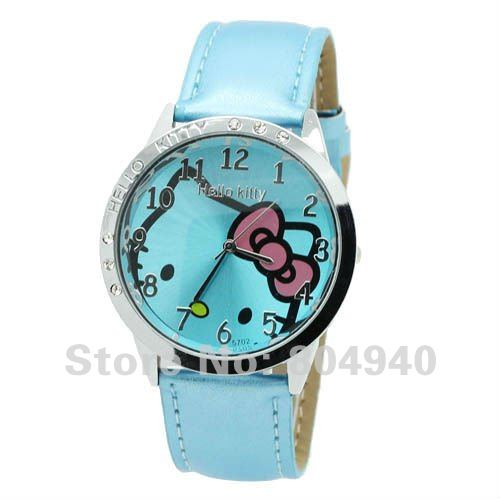 Leather 16 inch  watch Glass Quartz k5-1