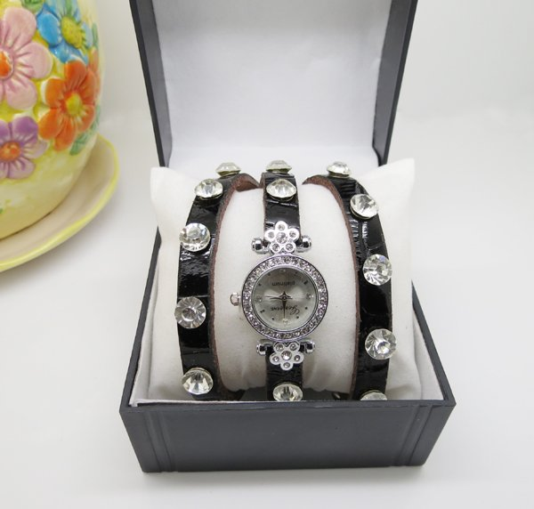 Cow leather watches Fashion lady watches Enamel leather watch band Newest styles ECOW0027