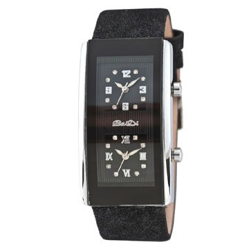 Leather 16 cm Rectangle watch  Digital 008