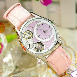 EYKI automatic mechanical watch South Korea fashionable watch wrist lovely female table freeshipping W8348