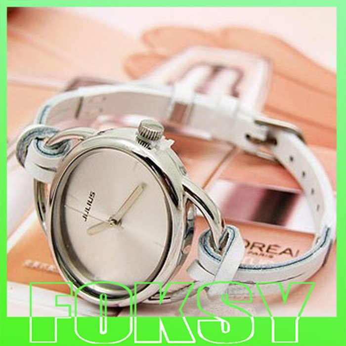 Elegant Rope Watch Knitted Watch Woven Jelly Watch Leather Strap Watchwrist Quartz Watch HK mail Free