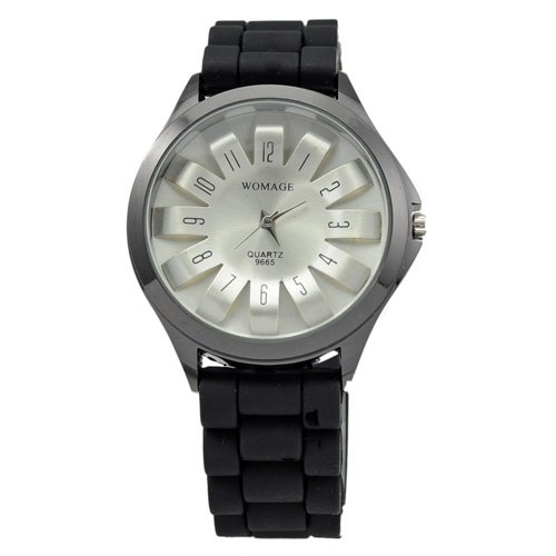 Stainless Steel 18 inch Rectangle watch Glass Quartz