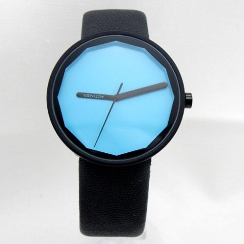 Fashion Women Round Three hand Quartz Watch for
