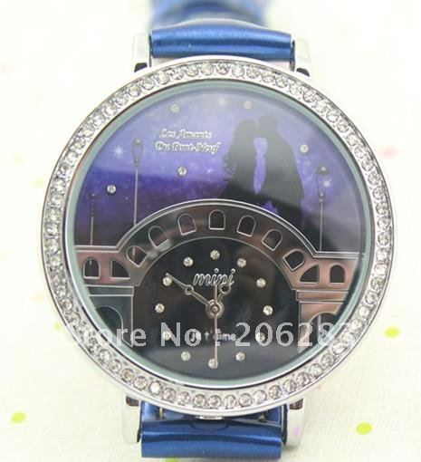 Fashion originality 3D bridge watch DIY women watch 1pc