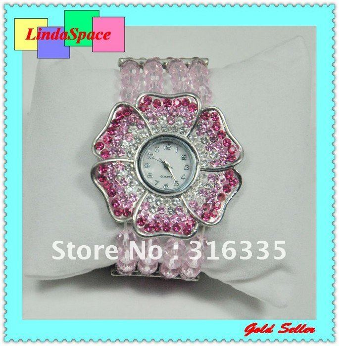 Fashion women gift watch ladies quartz wristwatch crystal china watch with Japan movt