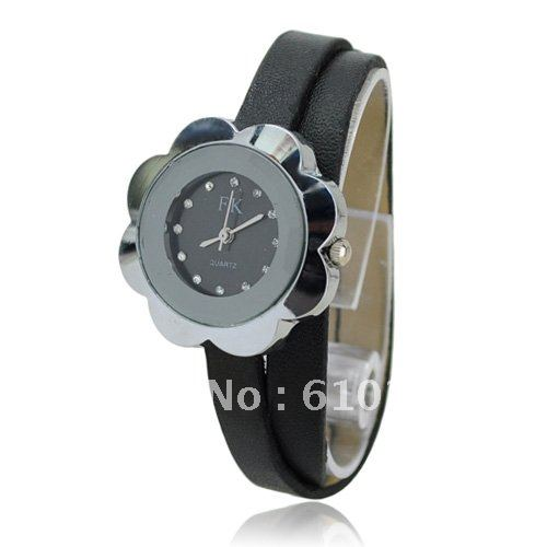 Ribbon  Rectangle watch Glass Quartz
