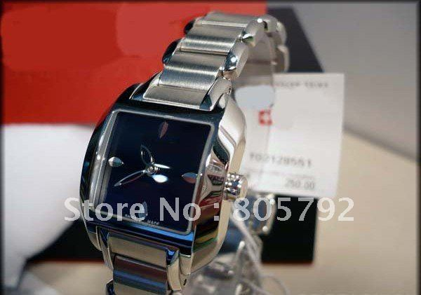 Stainless Steel 27 inch Square watch Ruby Quartz yxcn-1032