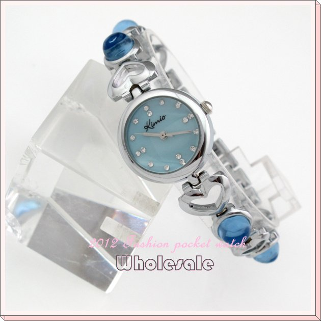 Leather 9 inch Round watch Glass Automatic Self-Wind