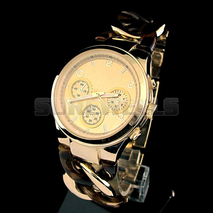Hot sale Fashion watch Luxury Gold Plated Watches mens watches NBW0SD6195 SS2