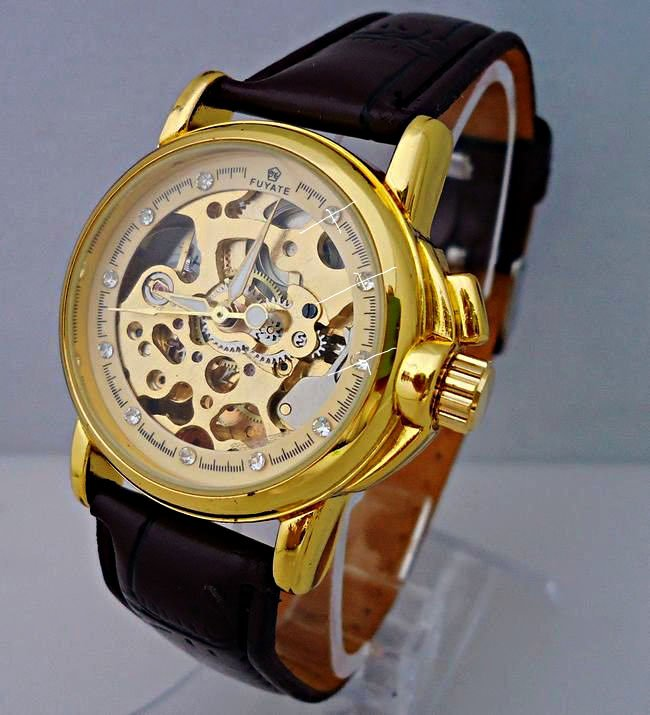 Stainless Steel 20 cm Round watch Glass Quartz