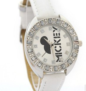 Mitch watch large dial 100 diamond printing Ladies Watch