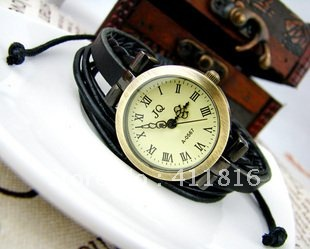 New arrive women s retro punk fashion watch personality clock waterproof quartz watch 100