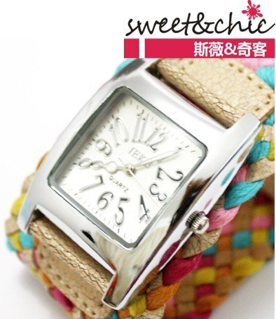 Women Quartz watch Fashion & Casual Stainless Steel 1 inch
