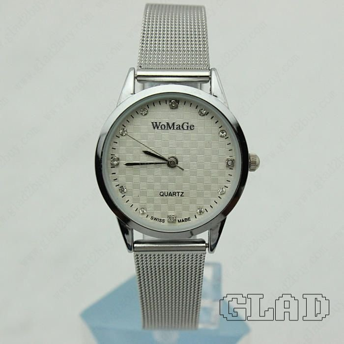 Hot Sale Fashion Stainless Steel Quartz lover Wrist Watch wcp2120 2