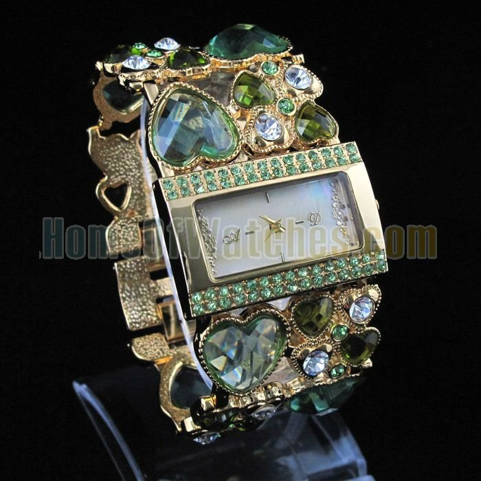 Leather  Square watch Resin Digital 8509