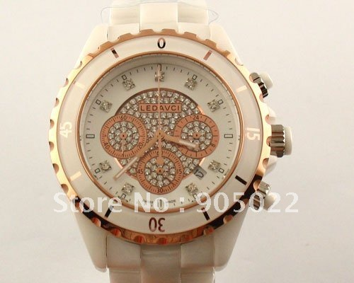 Stainless Steel 20.5 cm Round watch Hardlex Quartz